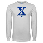 White Long Sleeve T Shirt-St Xavier Music