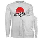 White Long Sleeve T Shirt-Godzilla Club