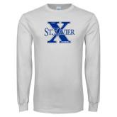 White Long Sleeve T Shirt-Golf Design