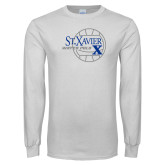 White Long Sleeve T Shirt-Water Polo Design