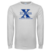 White Long Sleeve T Shirt-Athletic Boosters