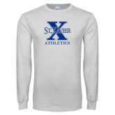 White Long Sleeve T Shirt-Athletics