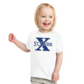 Toddler White T Shirt-St Xavier