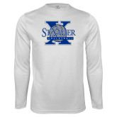Syntrel Performance White Longsleeve Shirt-St Xavier Volleyball