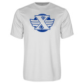 Syntrel Performance White Tee-Cross Country Design
