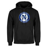 Black Fleece Hoodie-Hockey Design