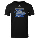Adidas Black Logo T Shirt-St Xavier Volleyball