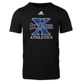 Adidas Black Logo T Shirt-Athletics