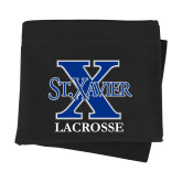 Black Sweatshirt Blanket-Lacrosse