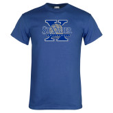 Royal T Shirt-St Xavier Volleyball