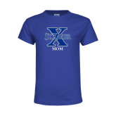 Youth Royal T Shirt-Mom