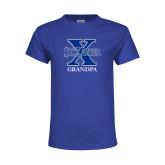 Youth Royal T Shirt-Grandpa
