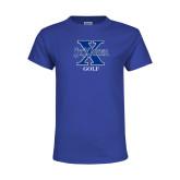 Youth Royal T Shirt-Golf