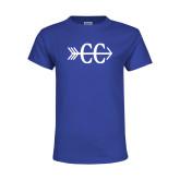 Youth Royal T Shirt-CC