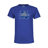Youth Royal T Shirt-St Xavier Volleyball