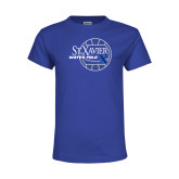 Youth Royal T Shirt-Water Polo Design