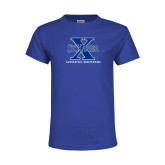 Youth Royal T Shirt-Athletic Boosters