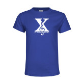 Youth Royal T Shirt-St Xavier Music