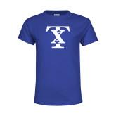 Youth Royal T Shirt-TX