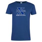 Ladies Royal T-Shirt-Wrestling