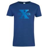 Ladies Royal T Shirt-St Xavier Foil