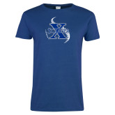 Ladies Royal T-Shirt-St Xavier Baseball