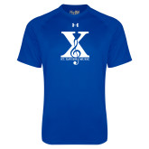 Under Armour Royal Tech Tee-St Xavier Music