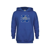 Youth Royal Fleece Hoodie-St Xavier Volleyball