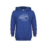 Youth Royal Fleece Hoodie-Water Polo Design