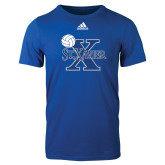 Adidas Royal Logo T Shirt-Volleyball Design