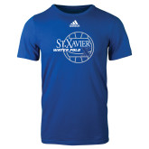 Adidas Royal Logo T Shirt-Water Polo Design