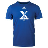 Adidas Royal Logo T Shirt-St Xavier Music