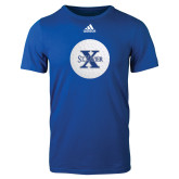 Adidas Royal Logo T Shirt-Golf Ball Design