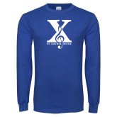 Royal Long Sleeve T Shirt-St Xavier Music