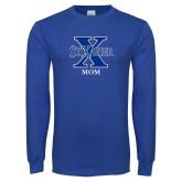 Royal Long Sleeve T Shirt-Mom