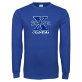 Royal Long Sleeve T Shirt-Grandma