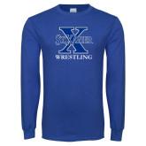 Royal Long Sleeve T Shirt-Wrestling