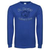 Royal Long Sleeve T Shirt-St Xavier Culinary Club Pig