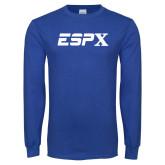 Royal Long Sleeve T Shirt-ESPX