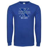 Royal Long Sleeve T Shirt-Rugby