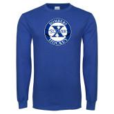 Royal Long Sleeve T Shirt-Hockey Design