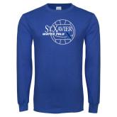 Royal Long Sleeve T Shirt-Water Polo Design