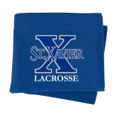 Royal Sweatshirt Blanket-Lacrosse