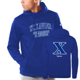 Senior Item - Under Armour Royal Armour Fleece Hoodie-Swimming and Diving