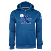 Under Armour Royal Performance Sweats Team Hoodie-Volleyball Design