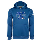 Under Armour Royal Performance Sweats Team Hoodie-Soccer Design