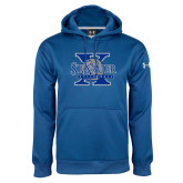 Under Armour Royal Performance Sweats Team Hoodie-St Xavier Volleyball