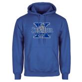 Royal Fleece Hoodie-St Xavier Volleyball
