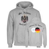 Grey Fleece Hoodie-Deutschklub