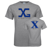 Grey T Shirt-X Gaming